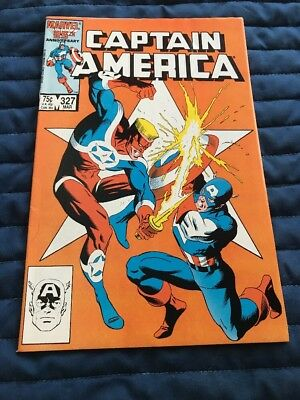 Captain America #327 High Grade Combined Shipping
