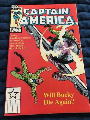 Captain America #297 High Grade Combined Shipping