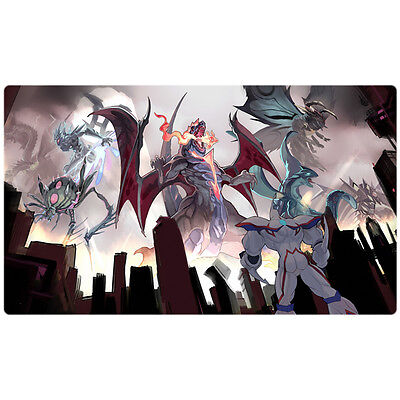 FREE SHIPPING Custom Yugioh Playmat Gameciel, the Sea Turtle Kaiju OP02-EN004