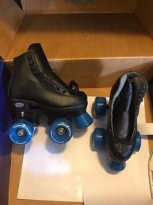 NEW RW by Riedell Jamz skates  Black High Top - Youth Size 10