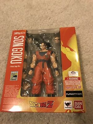 2015 SDCC Exclusive Bluefin S.H. Figuarts Dragon Ball Son Goku Frieza Saga Ver.