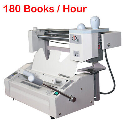 PRO A4 Book Binding Machine Wireless Hot Glue Book Binder Desktop Upgrade Design
