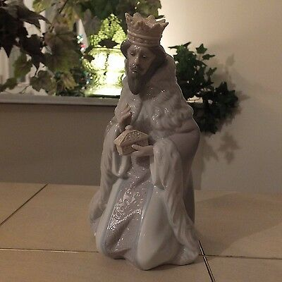 Lladro King Gaspar # 5480 Nativity Wiseman New In Box Mint L@@k Fast Shipping!!!