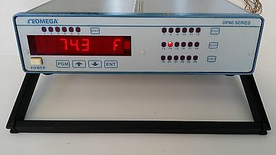 OMEGA TEMPERATURE DATA LOGGER DP86T  *Tested*  all 24 channels fully functional