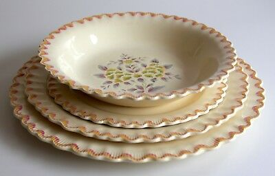 Adams Dinnerset Place Setting Rd 782219 Royal Ivory Titian Ware Table Display