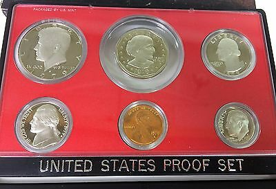 1979 S Complete Proof Set US Coin 1st Year SBA Free Shipping