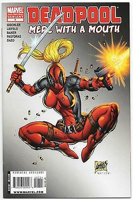 Deadpool Merc With A Mouth #7 2Nd Print Variant Nm 1St Appearance Lady Deadpool!