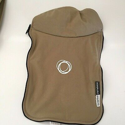 Bugaboo Cameleon Stroller Bassinet Apron Fleece Tan Beige Baby Carry Cot Cover