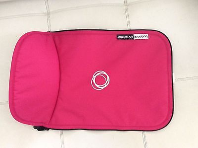 Bugaboo Cameleon Stroller Bassinet Apron Pink FLEECE Baby girl carrycot cover