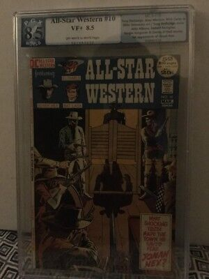 All Star Western 10 PGX 8.5 1st Appearance Of Jonah Hex