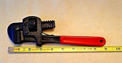 GLOBEMASTER DROP FORGED STEEL PIPE WRENCH # 64352, 9 inches LONG, NEW