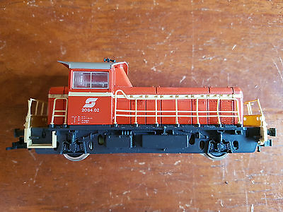 Roco Obb Shunting Loco Excellent Runner + Condition Unboxed Ho Gauge(Cd)
