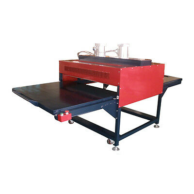 "31"" x 39"" Pneumatic Double-Working Table Large Format Heat Press Machine NEW"