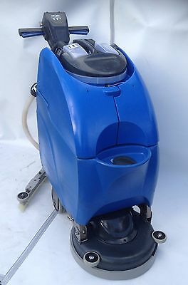 "Numatic Twintec TTB3450/100T Blue 17"" Battery Floor Scrubber Dryer (24volts)"