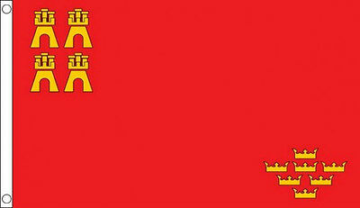 5' x 3' Murcia Flag Spain Spanish Regional Flags Banner