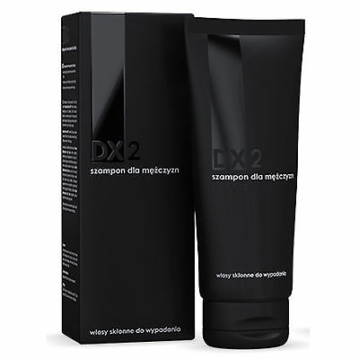 3x DX2 Szampon dla mężczyzn/ shampoo for men hair prone to hair loss 3x150=450ml