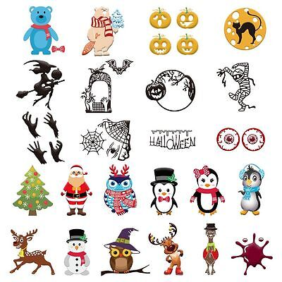 2017 Halloween Metal Cutting Dies Stencil Scrapbook Paper Cards Craft Embossing