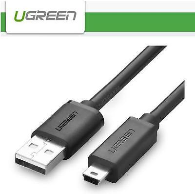UGREEN 2m Mini USB 2.0 Data Sync Charge Cable Lead - for PSP PS3 controller