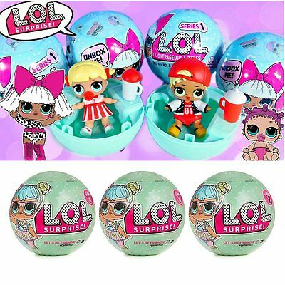 LOL Surprise Doll Lets Be Friends Series 1-7 Layers of Fun1 Lil Sisters Mystery