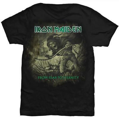 Iron Maiden From Fear to Eternity Camiseta Licencia oficial Chico Tee Rockoff