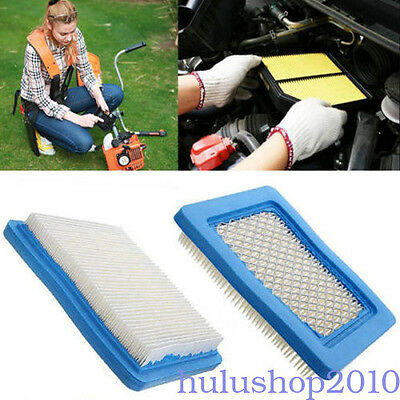 Square Lawn Mower Air Filters Accessories For Briggs & Stratton Garden Fits JSC8