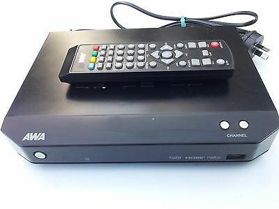 AWA DH2338 HIGH DEFINITION Set Top Box USB with Remote