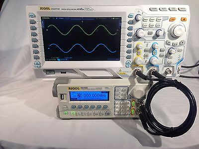 Rigol DS2072A Digital Oscilloscope upgraded to 300MHz with All Options