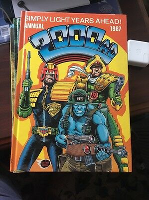2000AD Annual 1987 Vintage - UNCLIPPED - Excellent Condition
