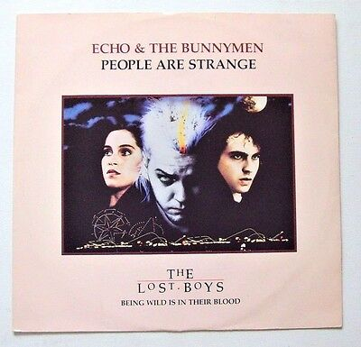 Echo & The Bunnymen - People Are Strange - 1988 WEA (VG+/VG+): Lost Boys Sleeve