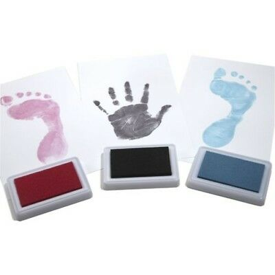 BABY SAFE Ink Pad Hand & Foot Prints Keepsake REUSABLE