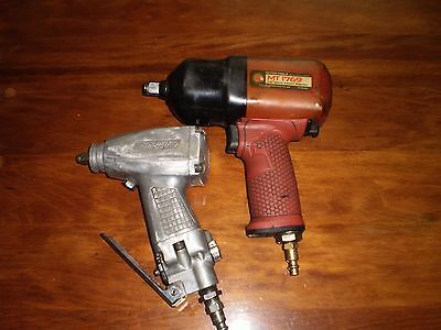 Matco Tools Mt1769 1/2 Inch Drive Impact Wren And 3/8 Bluepoint Impact Wrench