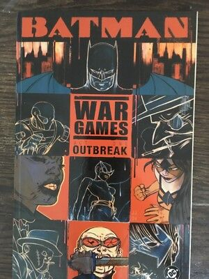 Batman War Games Set Of 3 Graphic Novels