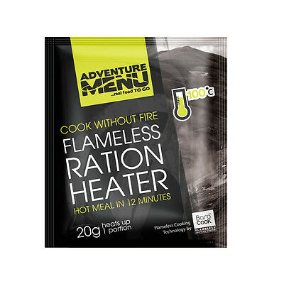 Adventure Menu Flameless-heater 20g for 1 serving Flammenloses Erhitzen 20g Pad