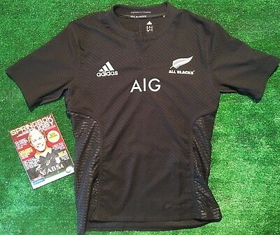 Match Worn Rugby All Blacks