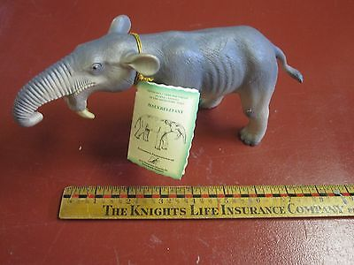 Bullyland Prehistoric Times non dinosaur model Deinotherium with tag