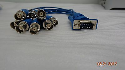 Used Geovision GV 600 GV 650 GV 800 D-Type Pigtail Video Cable