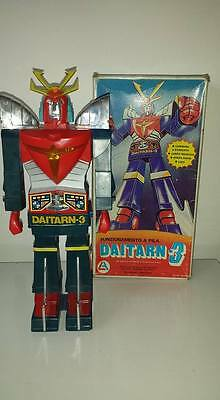 Daitarn 3 Battery Operated Al-Es Monza Vintage Made In Hong Kong