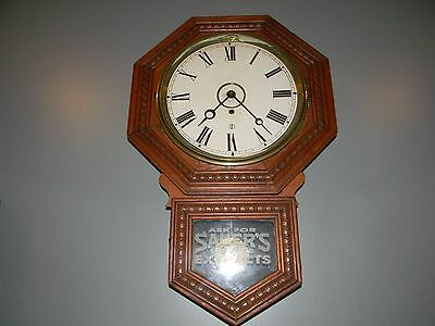 sessions advertising clock Saurers Extracts