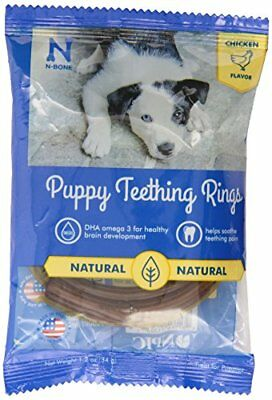 N-Bone Puppy Teething Single Ring Chicken Flavor