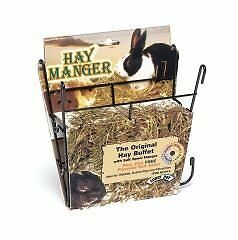 Hay Manger With Salt Hanger