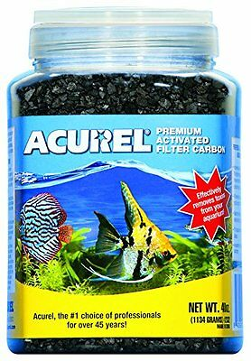 Acurel LLC Premium Activated Filter Carbon, 40-Ounce