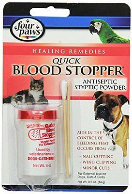 Antiseptic Quick Blood Stop 0.5 Oz, Pack of 2 (0.5oz x 2)