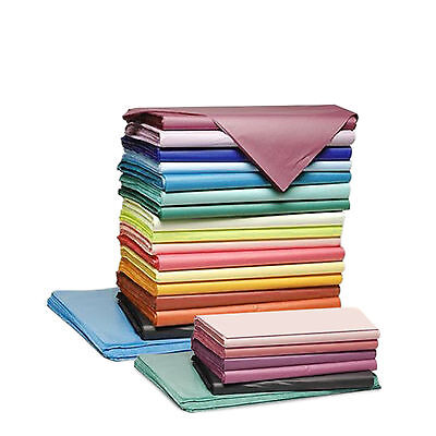 Coloured 5 SHEETS Tissue Paper Acid Free 750mm x 500mm Quality Gift Wrapping