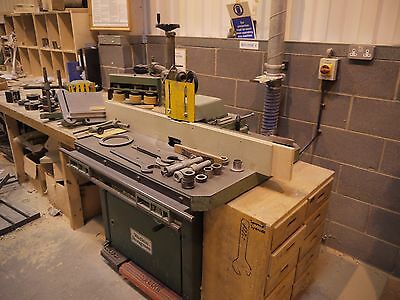 Wide range of Joinery manufacturing workshop machines with tooling/accessories