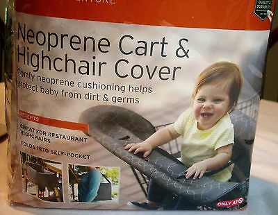 New Eddie Bauer neoprene shopping cart and high chair cover