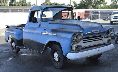 1958 Chevrolet Other Pickups APACHE SWB HORT BED APACHE TRUCK PATINA BARN FIND HOT ROD RAT 55 56 57 59 VTG CUSTOM OLD