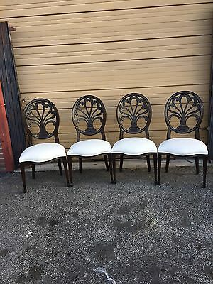 Sets Of Four Midcentury Dining Chairs