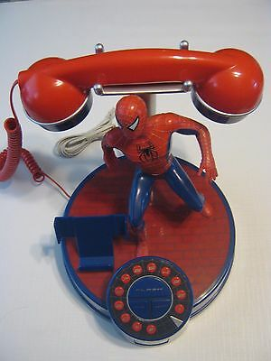 Spider-man 2 The Movie Corded Digital Telephone 2004
