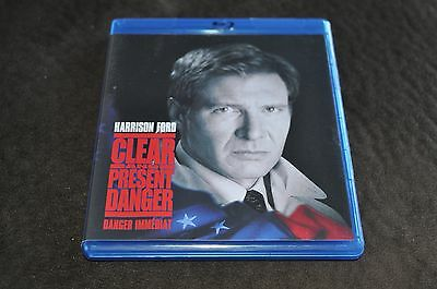 Clear and Present Danger (Blu-ray Disc, 2008, Canadian)