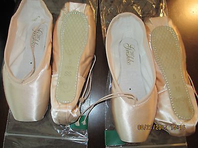 Grishko 2007 Pointe Shoes Multi Widths/Sizes Shanks SS &  M New Stock Ballet